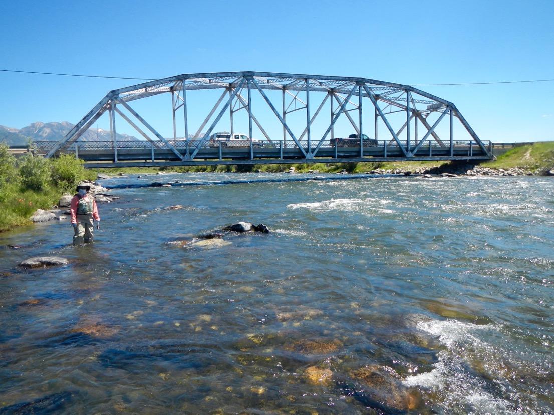 Madison River Three Dollar Bridge